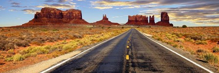 Road to Monument Valley, Arizona by Vadim Ratsenskiy art print