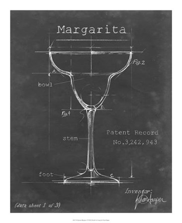 Barware Blueprint VI by Ethan Harper art print