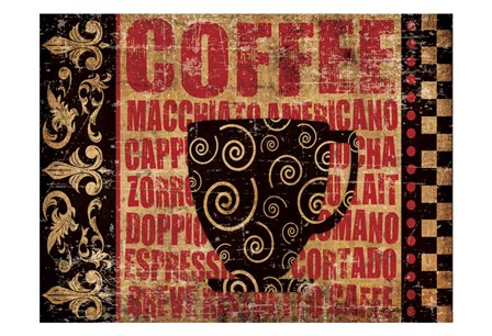 Caffeinated Expressions 3 by Melody Hogan art print
