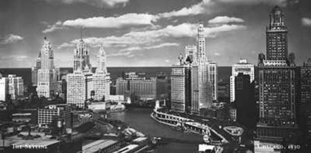 Chicago, c.1930 art print