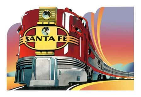 Santa Fe by David Chestnutt art print