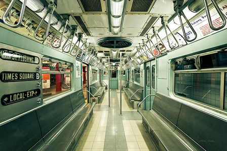 NYC Subway by Katherine Gendreau art print