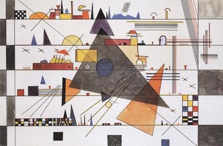 Horizonale, c.1924 by Wassily Kandinsky art print